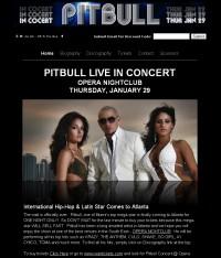 Pitbull Concert Atlanta